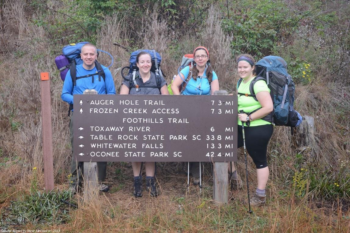 Foothills Trail Thru Hike Fatpacking